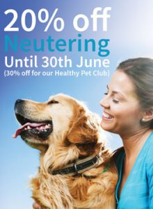 Neutering campaign March - June 2017